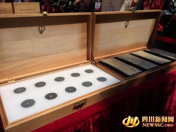 张献忠江口沉银遗址部分文物亮相 堪称世界级考古发现(组图)