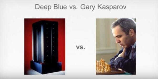 1997年5月,IBM与世界国际象棋冠军加里卡斯帕罗夫对决。