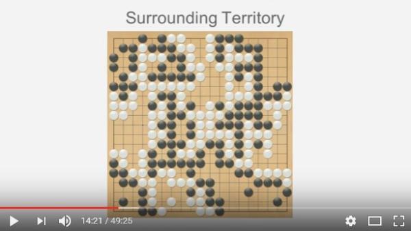 白棋以一格之差险胜。