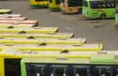广西梧州市公交车集体罢运