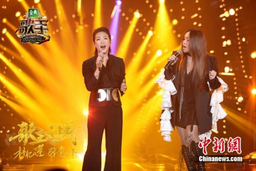 林忆莲与张惠妹合唱《也许明天》
