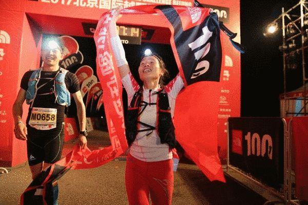 女子100KM冠军郑丽萍