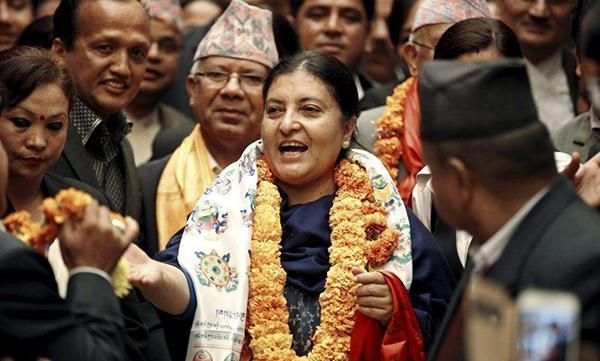 尼泊尔总统上任后首访印度 正值中尼首次军演期间