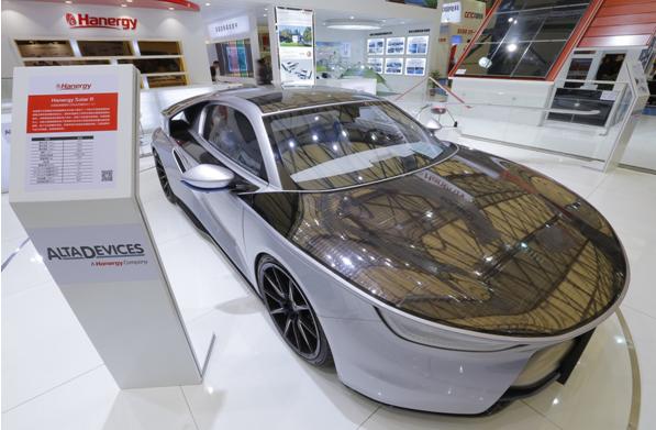 汉能全系产品首次集中亮相SNEC