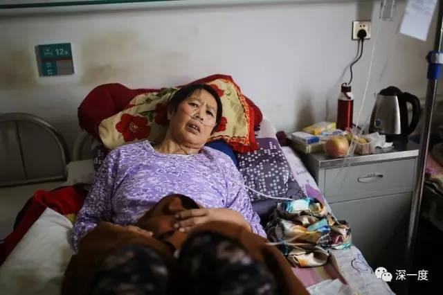 当地村民近年癌症多发,一位肺癌患者在住院治疗