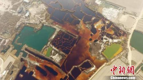 """图为""""两江环保""""微信公众号发布的航拍图片。网络截图"""