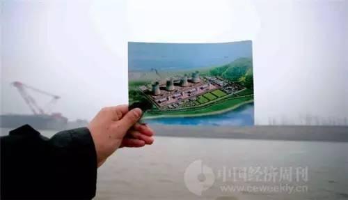照片所示地就是拟建的彭泽核电厂,2012年之后一直停工,其间每当传出要重启的消息均引来社会的广泛关注。