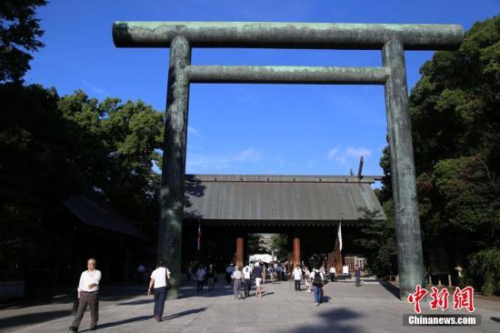 资料图:靖国神社。 高越 摄