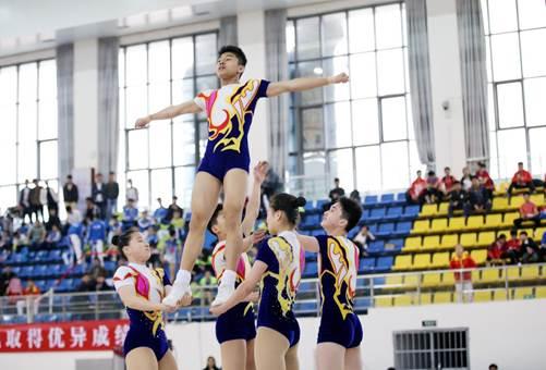 全国健美操联赛厦门站圆满成功