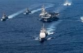 日舰与美航母联合军演