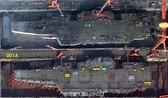 看完这篇文章 就知首艘国产航母和辽宁舰有何不同