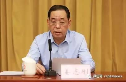 北京市委组织部长姜志刚调任宁夏副书记