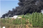 济南一磨具厂突发大火