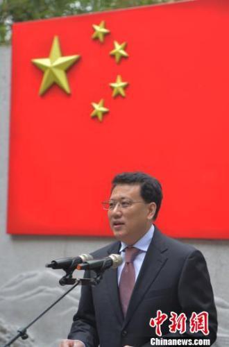 2017年2月17日,袁家军在浙江省检察院首批员额检察官任职宣誓仪式上讲话。(资料图) 王刚 摄