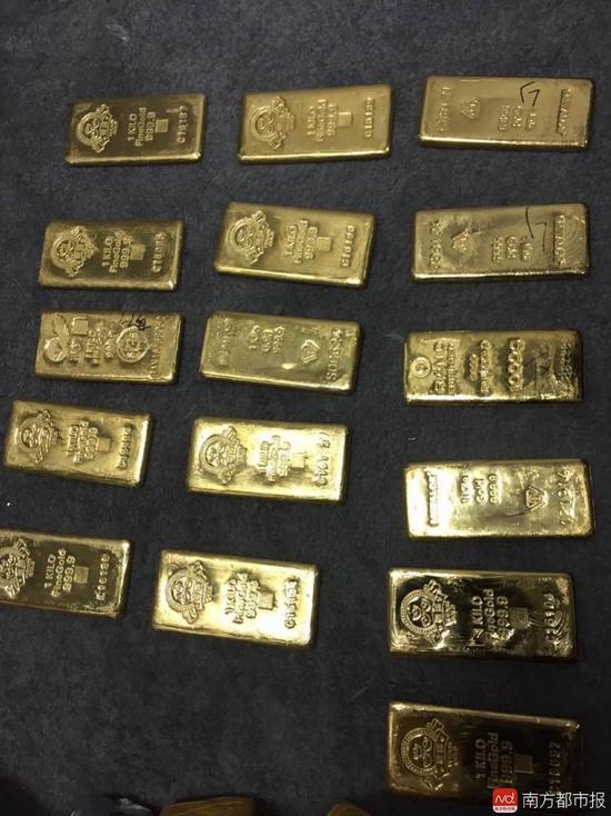 跨国团伙骗6亿:成员开宾利 数十公斤黄金被藏床底