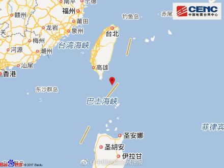 [台湾地区附近发生5.3级左右地震]中国地震台网自动测定:04月30日09时57分,avop在中国台湾地区附近(北纬21.68度,avop东经121.54度)发生5.3级左右地震。
