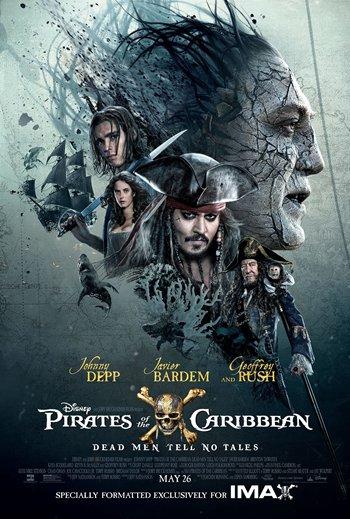 《加勒比海盗5》 IMAX海报