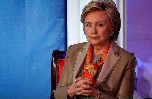 """希拉里・克林顿出席在纽约举行的""""女性为女性""""活动"""