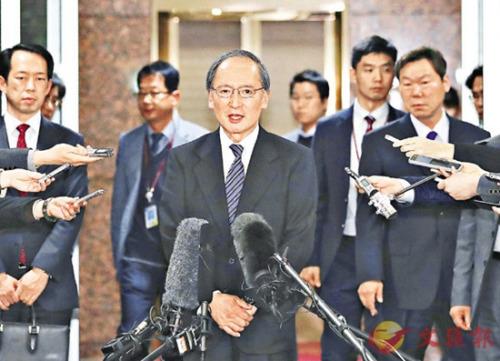日本大使返韩后首会韩外长 促撤走慰安妇少女像(图)