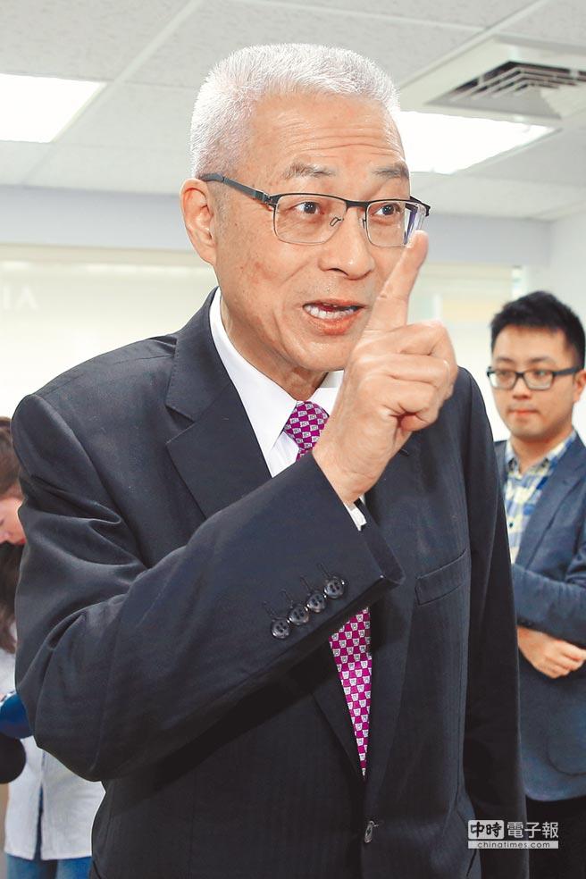 国民党主席选举民调:吴敦义以46.6%支持度领先(图)