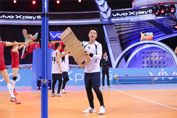 贾乃亮再迎战中国女排 《来吧冠军》本周日开播