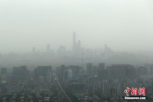 最强沙尘天气已影响中国近20省市(图)