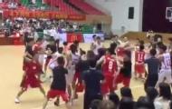 莞大学生篮球联赛爆发群殴