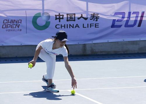 中网球童成长计划正式启动