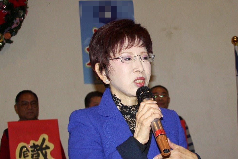 洪秀柱政见会上承诺不选2020年台湾地区领导人