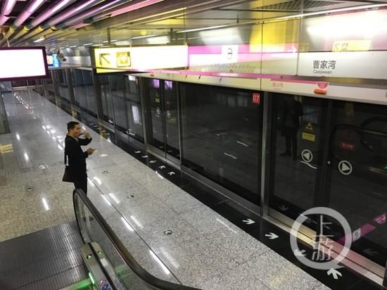重庆现最隐秘轨道站 称不具备开通条件(图)