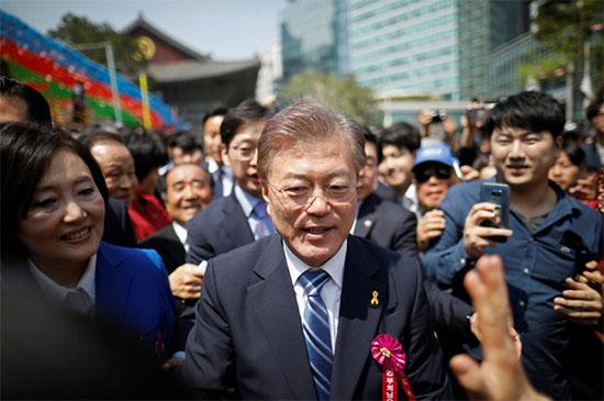 韩国第19届总统文在寅