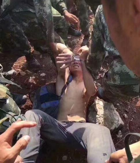 云南落网越狱逃犯曾在部队服役5年是散打高手