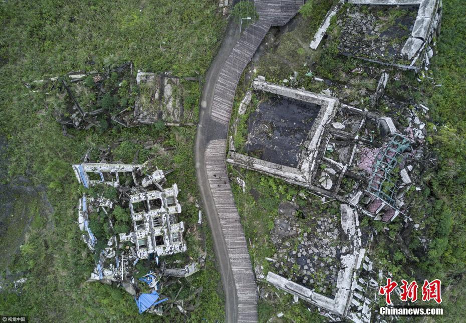 汶川地震9周年 实拍地震遗迹现状(图)
