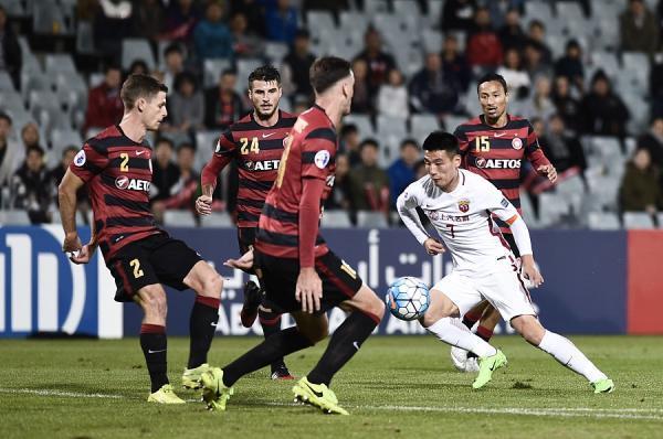 武磊在亚冠进球已经上双。