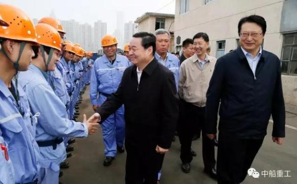 国资委书记调研航母工程:成立临时党委有示范性