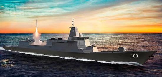 专家:中国需要大型驱逐舰 可增强对陆打击能力