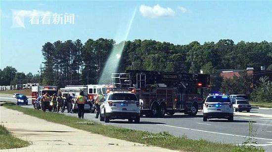 美国车祸3人身亡 目击者拍下灵异照片