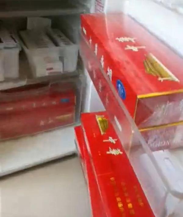 天津肿瘤医院一科室主任收礼被停职,办公室冰箱装满名贵香烟