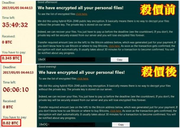 台网民求降病毒赎金 黑客答应:高估你们收入了