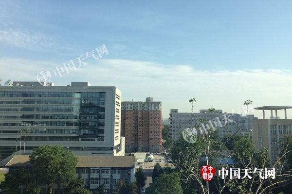 北京今最高温将达32℃午后风力加大阵风6级