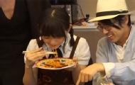 日本网红下面给萌妹子吃