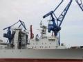 新型补给舰现身 将补齐中国航母群最后短板