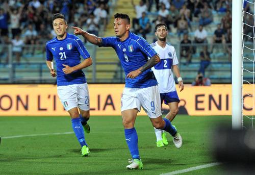 热身赛-米兰锋霸3球飞翼3助攻意大利8-0屠鱼腩