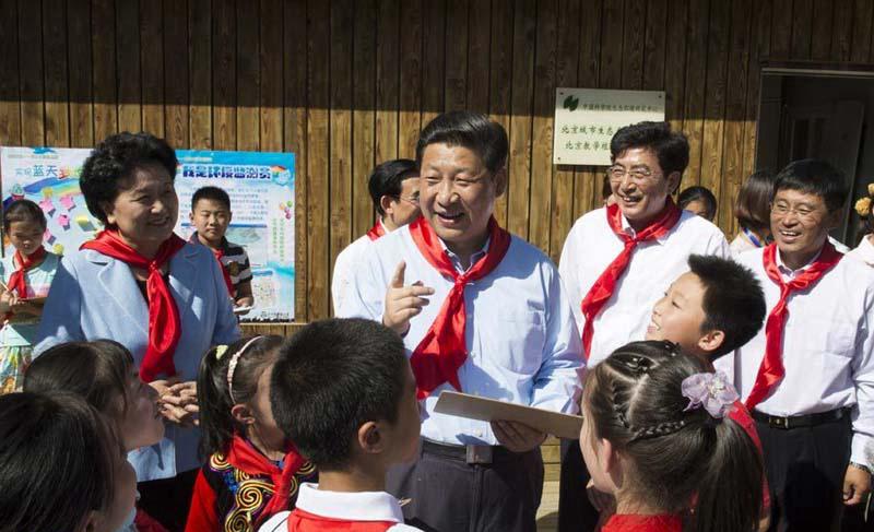 习近平寄语儿童:美丽的中国梦属于你们