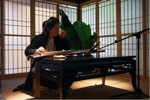 著名古琴演奏家张友音乐雅集于安仁书院举行图片