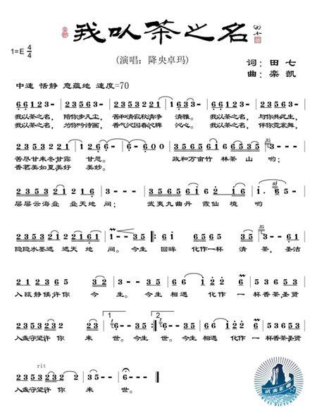 据悉,此次降央卓玛演唱的公益歌曲《我以茶之名》,是由导演田七和