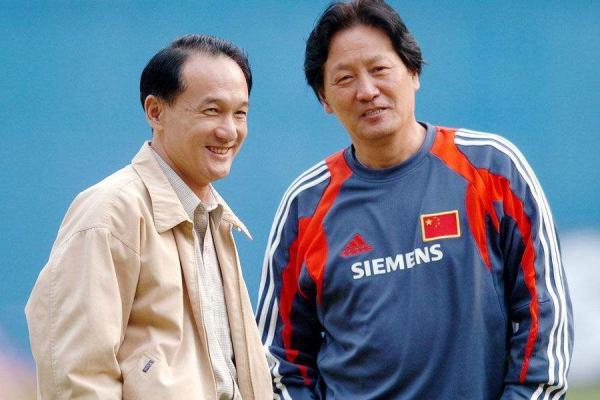 朱广沪和谢亚龙。