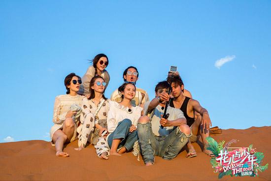 纳米比亚红沙漠看日落 花少团登沙丘青春扑面
