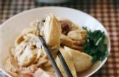 白斩鸡、糟虾搭配杨梅吃