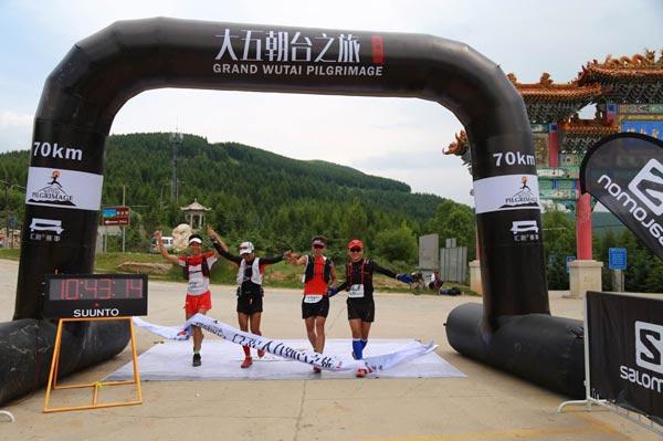 70km男子团队赛冠军